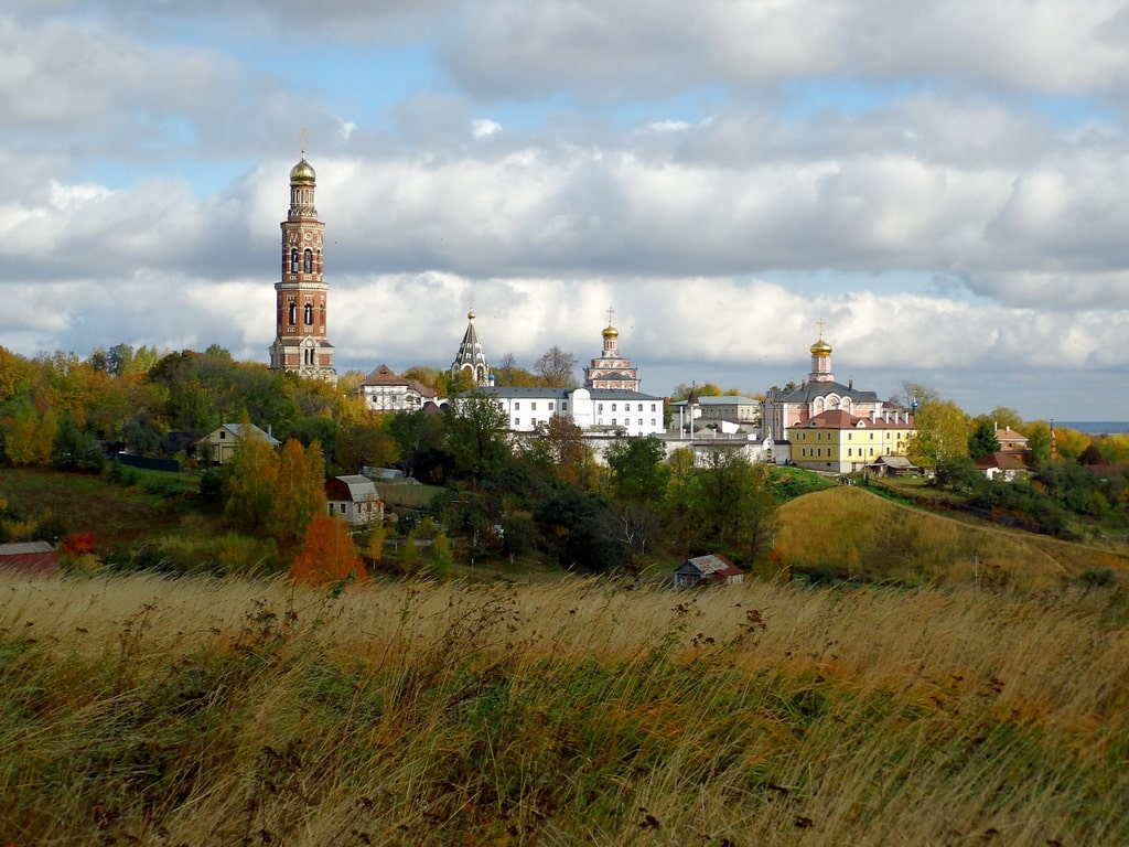 Иоано-Богословского монастырь в Пощупово