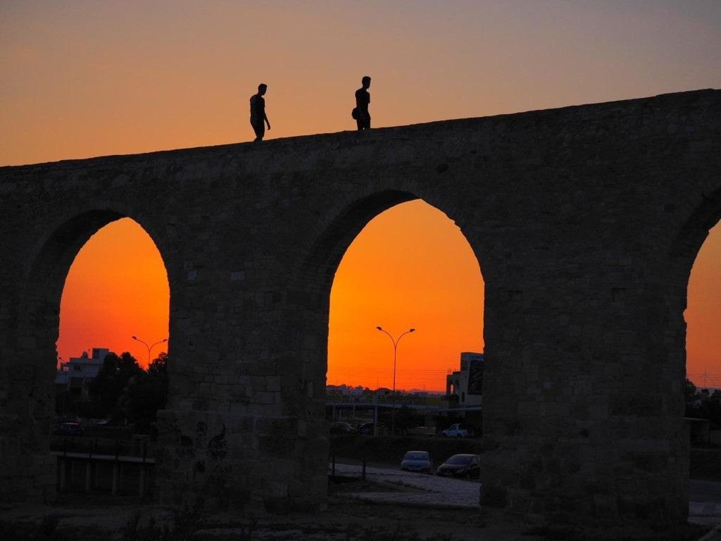 Акведук Камарес. Кипр