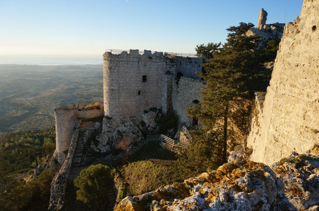 Замок Кантара.Северный Кипр.