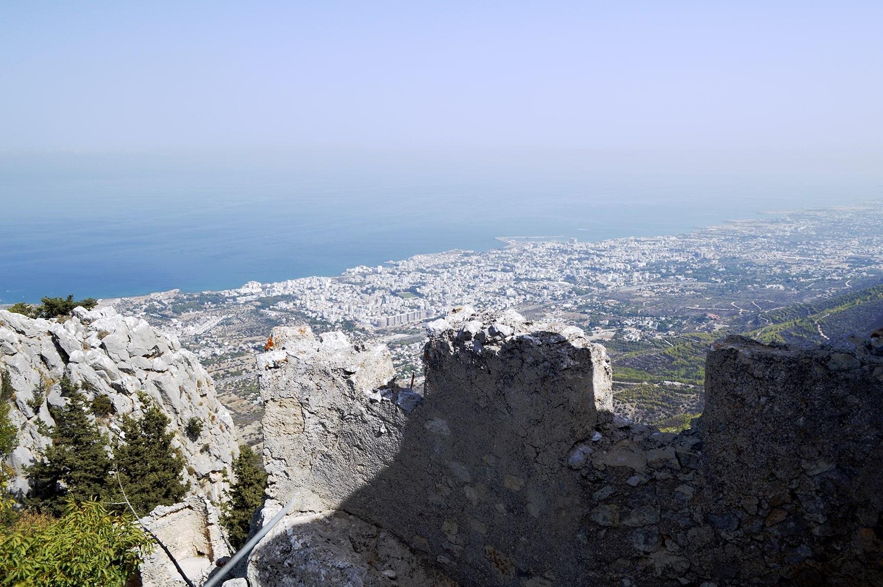 Кирения. горы. Северный Кипр