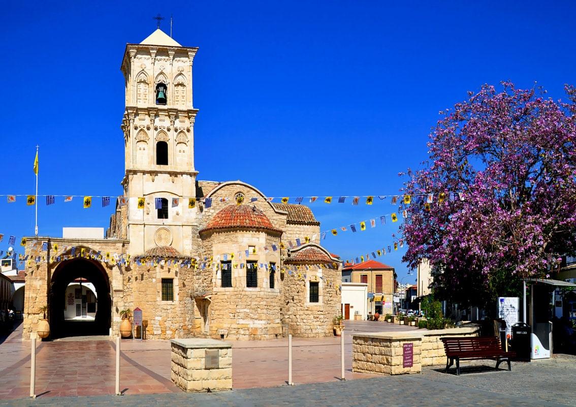 Церковь святого Лазаря.Кипр