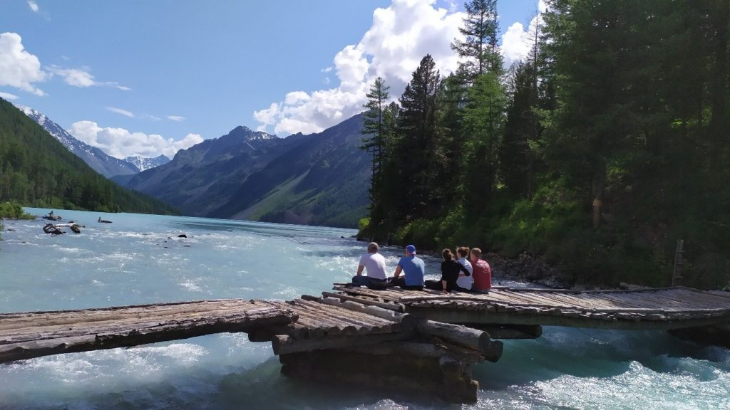 Пеший поход на Алтай