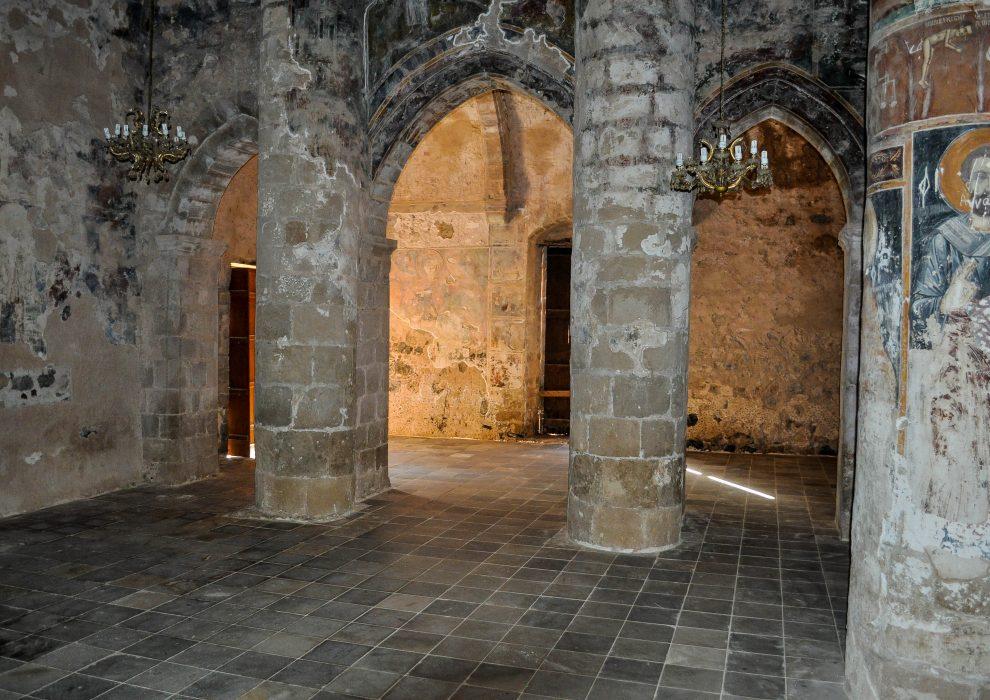 Церковь Антифонитис.Северный Кипр.
