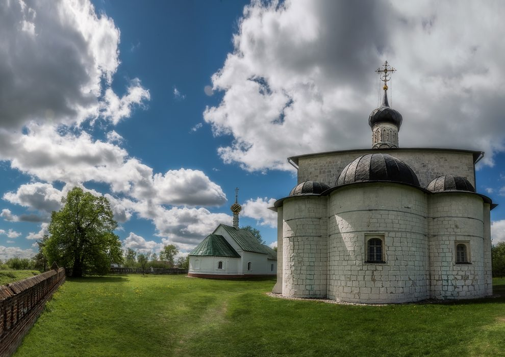 Церковь Бориса и Глеба в селе Кидекша