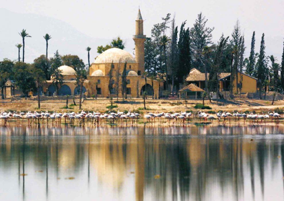 Мечеть Хала Султан Теке.Кипр