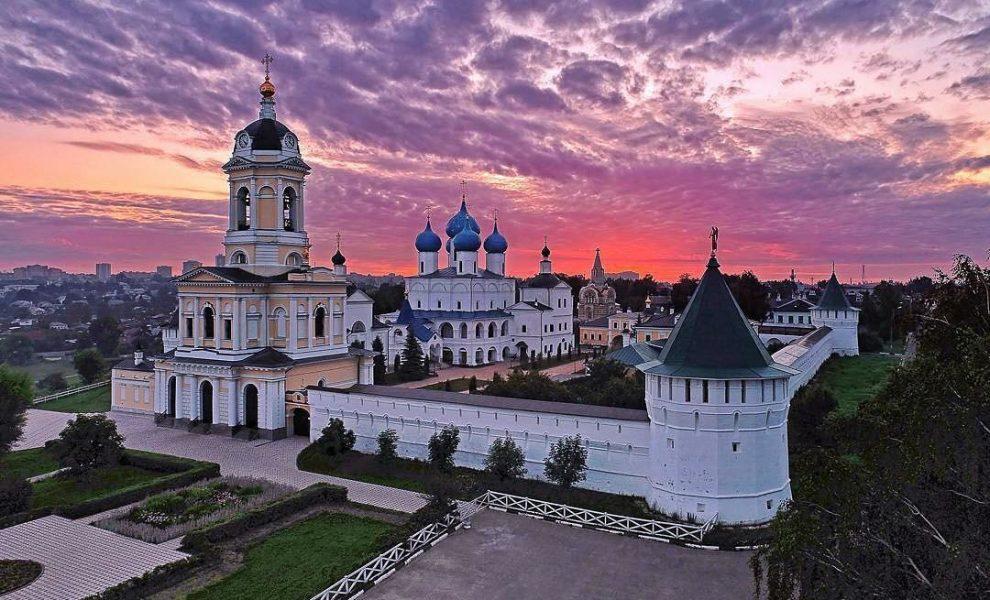Серпухов.Высоцкий монастырь