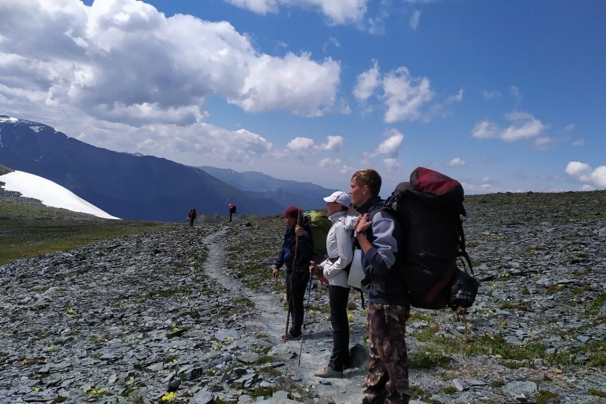 На перевале Кара-тюрек