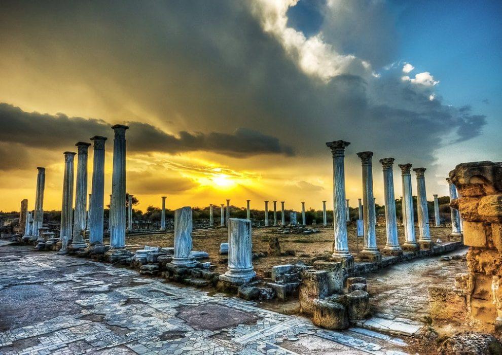Саламис. Северный Кипр.