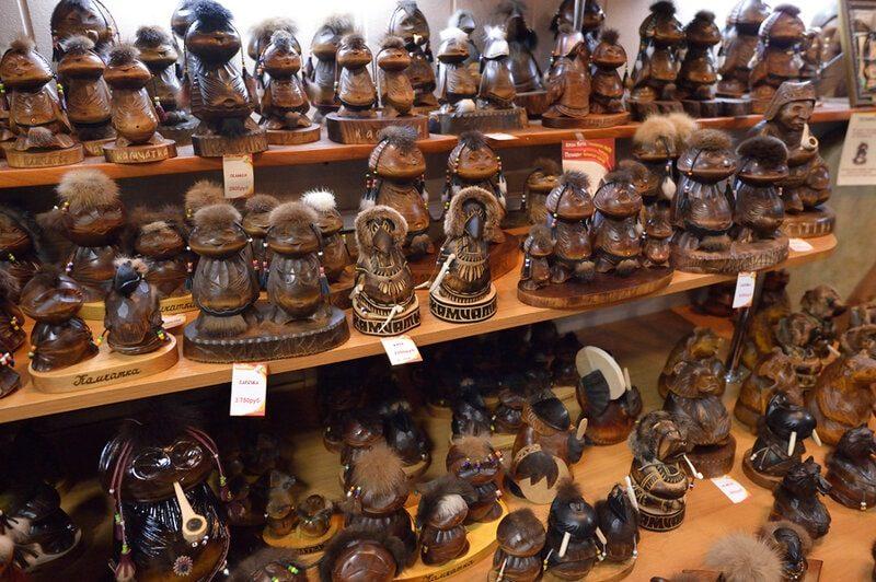 сувениры камчатки
