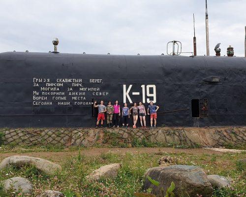 подводная лодка к 19