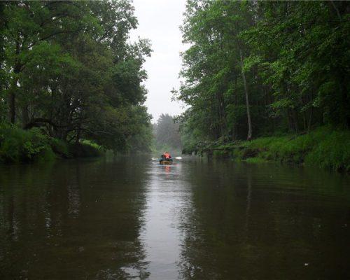 сплав река жиздра