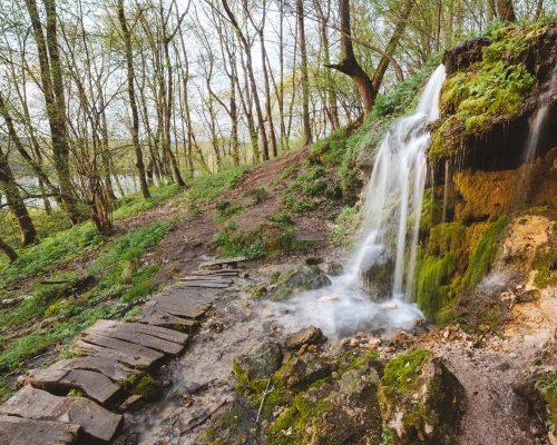 Водопад Пущино